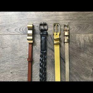 Fashion belt bundle - assorted sizes